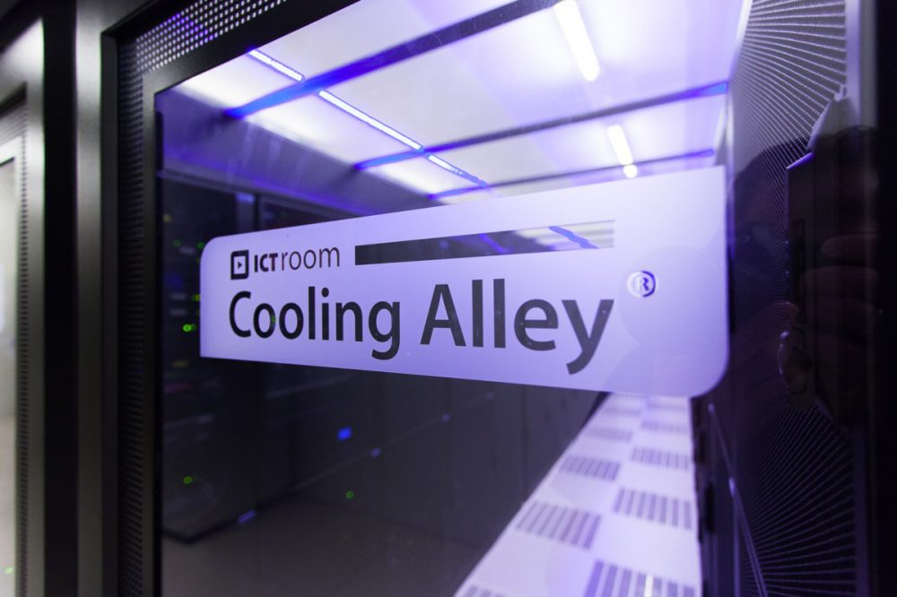 Cold Corridor cooling alley